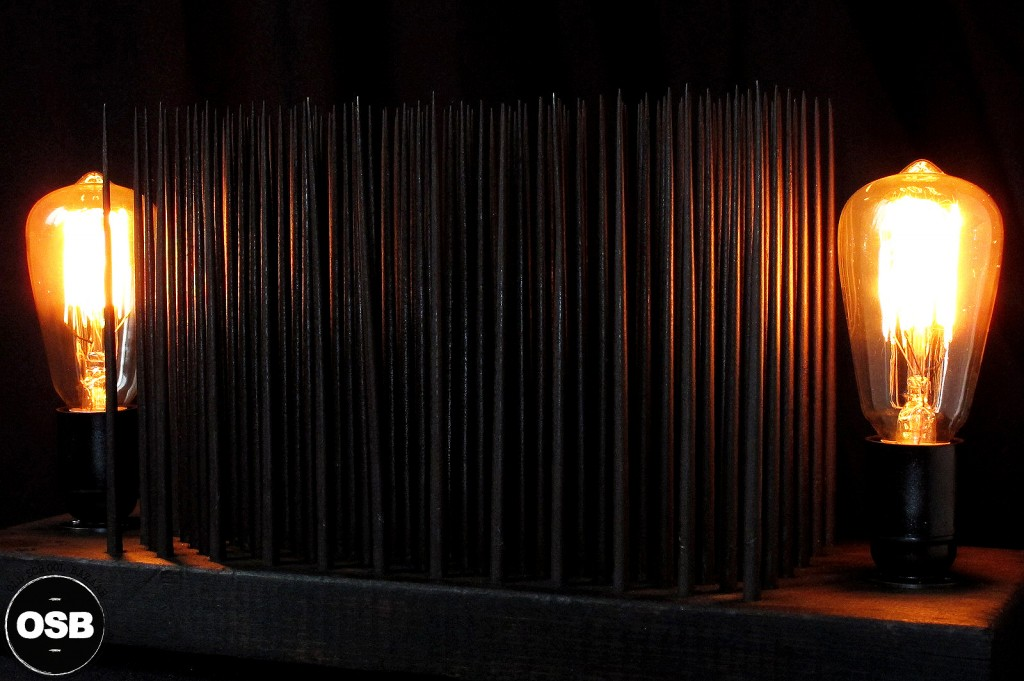 LAMPE TRACTOR CREATION LUMINAIRE UNIQUE OLD SCHOOL BAZAAR LAMPE STEAMPUNK INDUSTRIEL UNIQUE 11