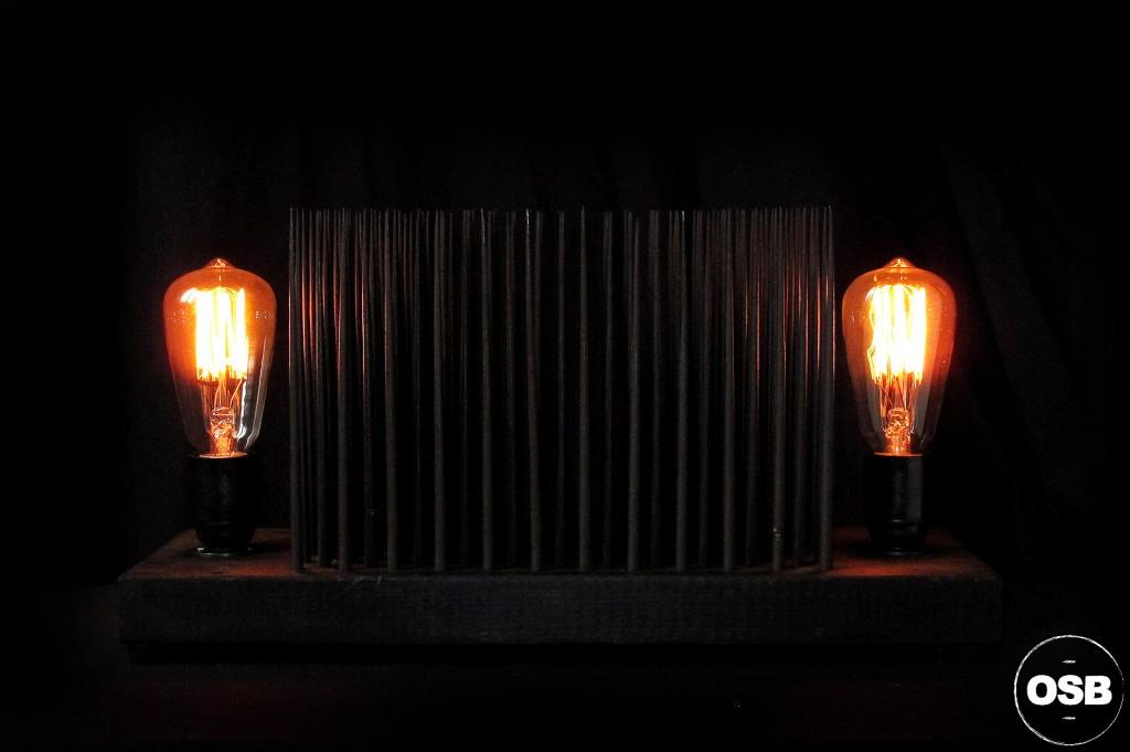 LAMPE TRACTOR CREATION LUMINAIRE UNIQUE OLD SCHOOL BAZAAR LAMPE STEAMPUNK INDUSTRIEL UNIQUE 2