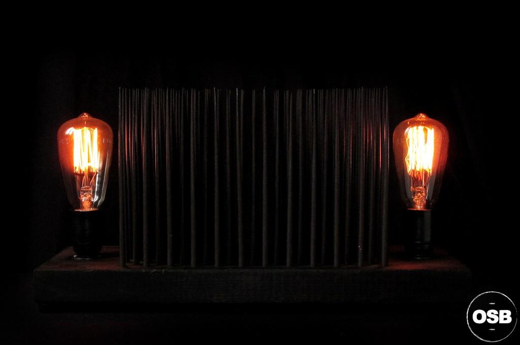 LAMPE TRACTOR CREATION LUMINAIRE UNIQUE OLD SCHOOL BAZAAR LAMPE STEAMPUNK INDUSTRIEL UNIQUE 9