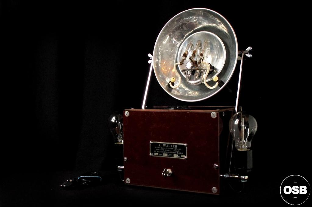 LAMPE TRACTOR CREATION OLD SCHOOL BAZAAR LUMINAIRE ANCIEN STEAMPUNK LOFT INDUS CABINET CURIOSITE VINTAGE LAMP 12