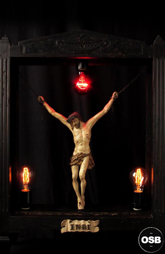 LAMPE TRACTOR LUMINAIRE UNIQUE RELIQUAIRE LUMINEUX LUMIERE ANCIEN OLD SCHOOL BAZAAR SIGNEE TRACTOR LAMP CURIOSITE 2