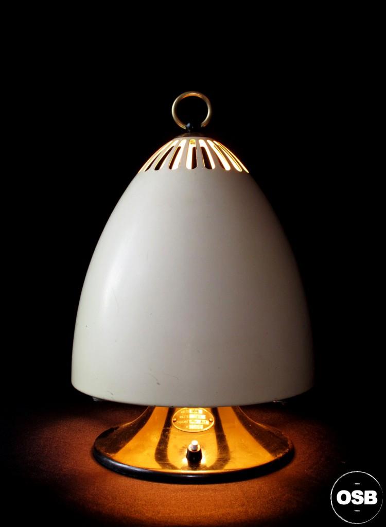 Lampe creation Tractor chauffage ancien 1