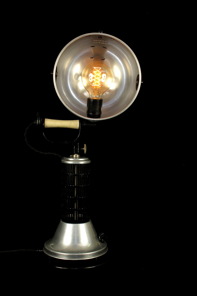 LAMPE HANAU MODIFICATION LUMINAIRE UNIQUE OLD SCHOOL BAZAAR ESPRIT LOFT 5