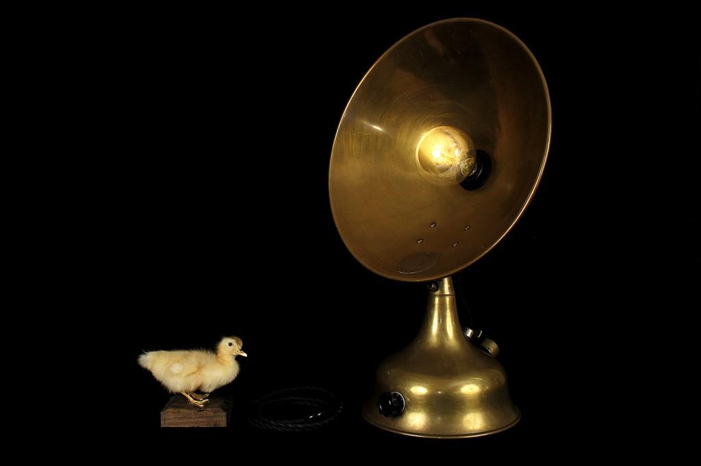 LAMPE TRACTOR CREATION MODIFICATION LUMINAIRE LAMPE ANCIENNE DECORATION STEAMPUNK ETRANGE OLD SCHOOL BAZAAR 9
