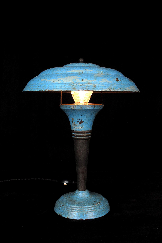 ancienne lampe champignon vers 1940 old school bazaar. Black Bedroom Furniture Sets. Home Design Ideas