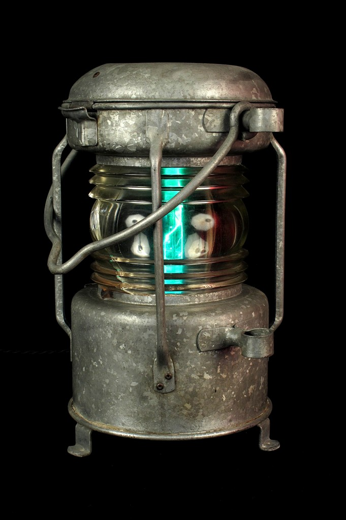FANAL BATEAU ANCIEN ELECTRIFIEE LAMPE ORIGINAL LUMINAIRE ANCIEN OLD SCHOOL BAZAAR 2