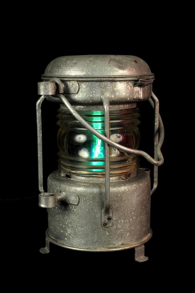 FANAL BATEAU ANCIEN ELECTRIFIEE LAMPE ORIGINAL LUMINAIRE ANCIEN OLD SCHOOL BAZAAR 3