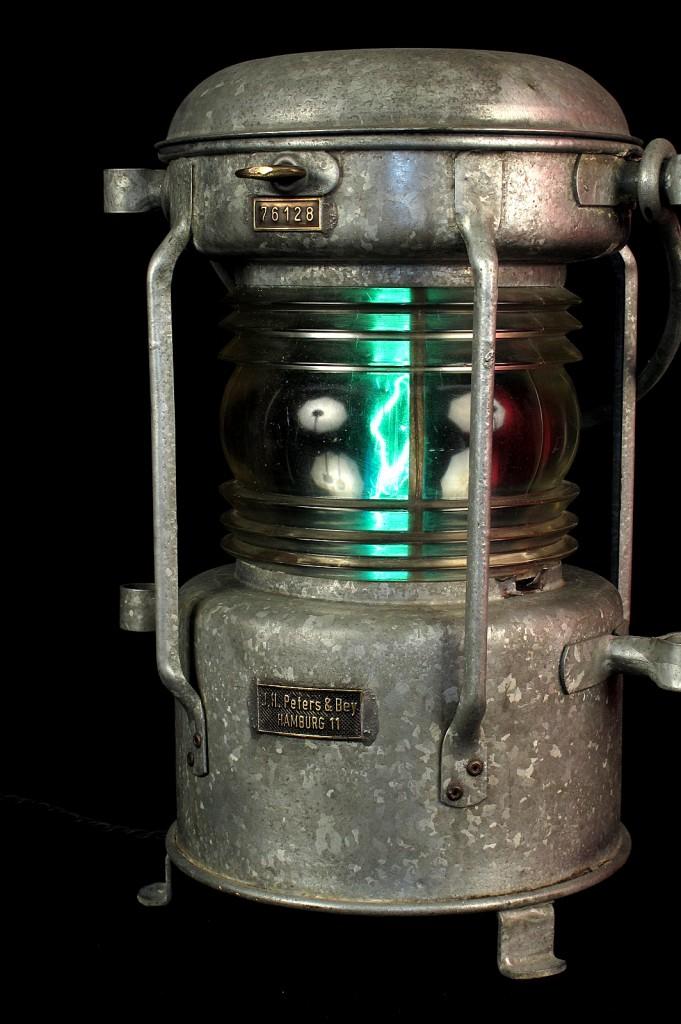FANAL BATEAU ANCIEN ELECTRIFIEE LAMPE ORIGINAL LUMINAIRE ANCIEN OLD SCHOOL BAZAAR 5