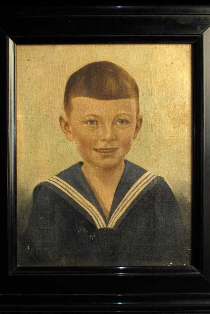 tableau-ancien-peinture-portrait-enfant-decoration-cabinet-curiosites-antiquites-decalees-old-school-bazaar-2