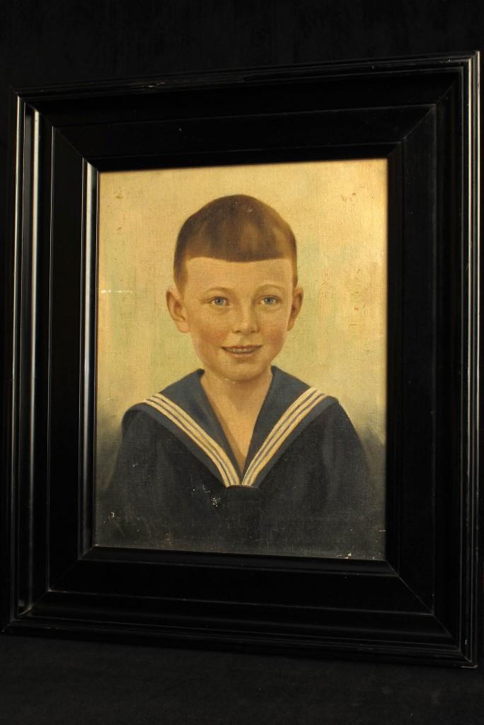 tableau-ancien-peinture-portrait-enfant-decoration-cabinet-curiosites-antiquites-decalees-old-school-bazaar-3