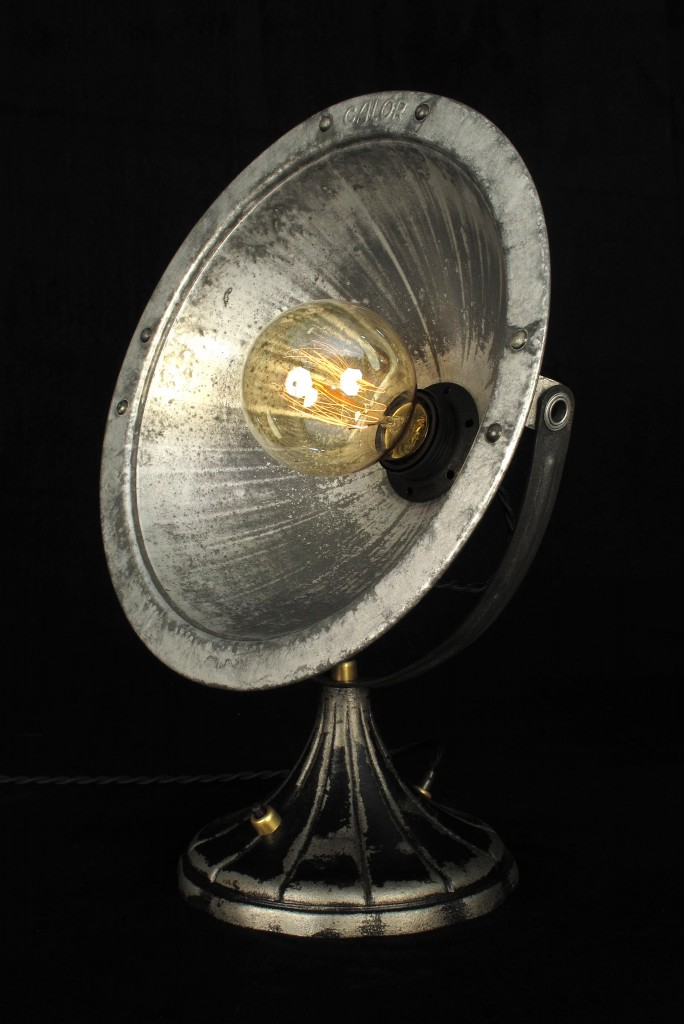 ANCIEN SPOT LAMPE CALOR METAL ESPRIT INDUSTRIEL LOFT LUMINAIRE VINTAGE OLD SCHOOL BAZAAR 3