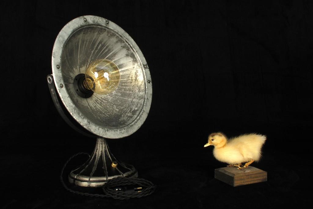 ANCIEN SPOT LAMPE CALOR METAL ESPRIT INDUSTRIEL LOFT LUMINAIRE VINTAGE OLD SCHOOL BAZAAR 7
