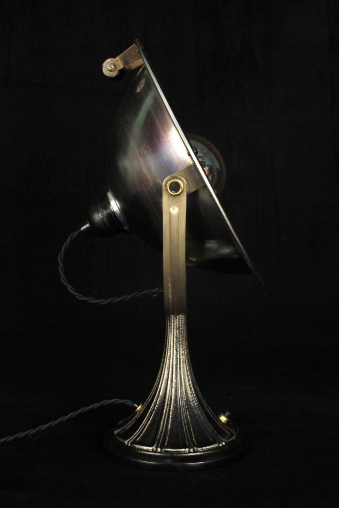 ANCIENNE LAMPE SPOT CALOR METAL PATINE DU TEMPS ESPRIT INDUSTRIEL LOFT LUMINAIRE VINTAGE OLD SCHOOL BAZAAR 3