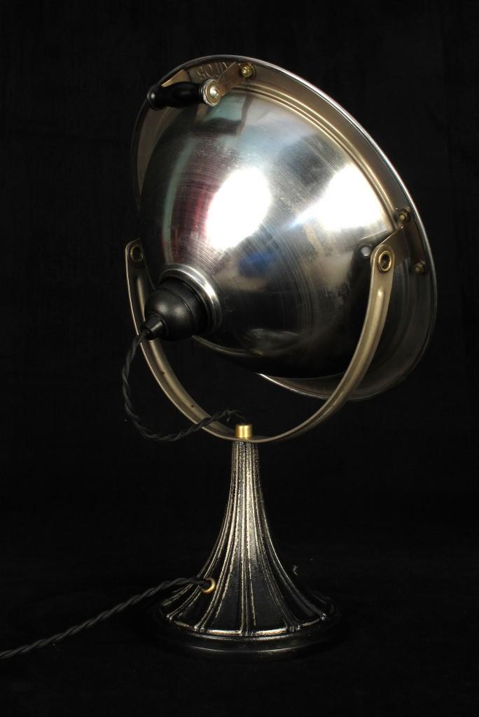 ANCIENNE LAMPE SPOT CALOR METAL PATINE DU TEMPS ESPRIT INDUSTRIEL LOFT LUMINAIRE VINTAGE OLD SCHOOL BAZAAR 4