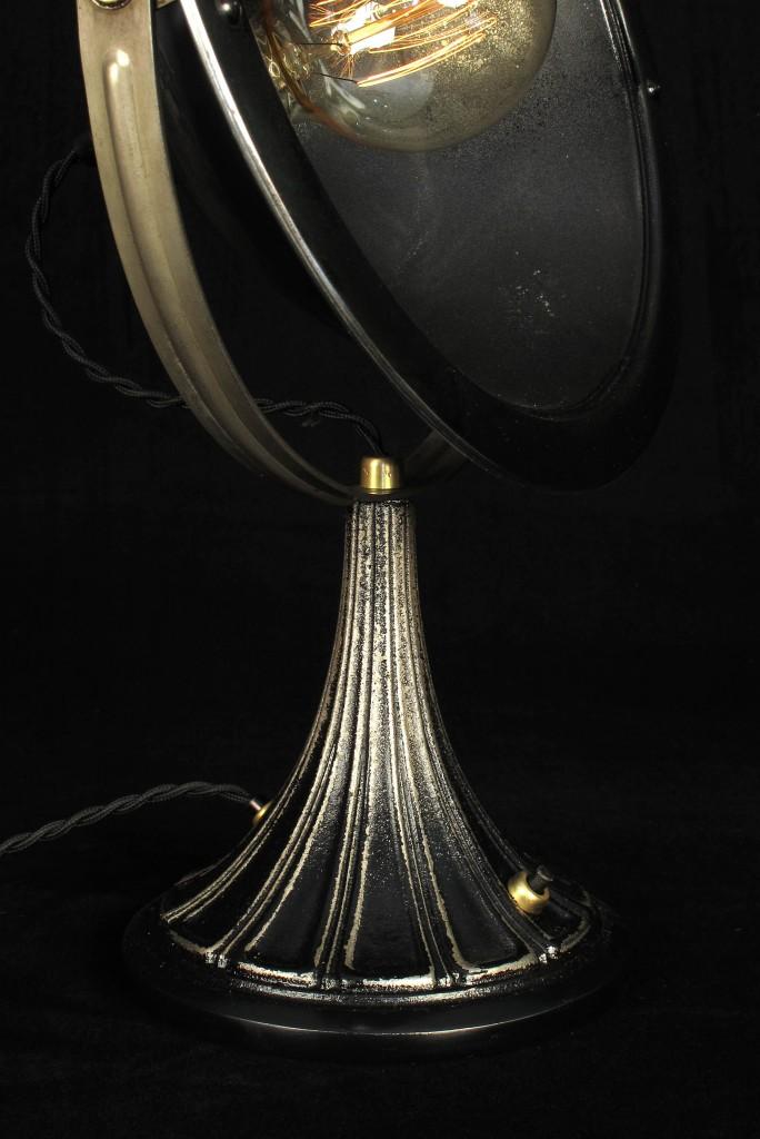ANCIENNE LAMPE SPOT CALOR METAL PATINE DU TEMPS ESPRIT INDUSTRIEL LOFT LUMINAIRE VINTAGE OLD SCHOOL BAZAAR 6