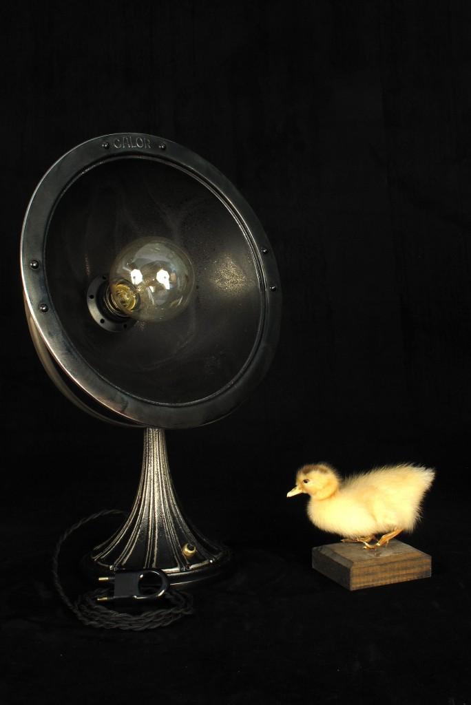 ANCIENNE LAMPE SPOT CALOR METAL PATINE DU TEMPS ESPRIT INDUSTRIEL LOFT LUMINAIRE VINTAGE OLD SCHOOL BAZAAR 8