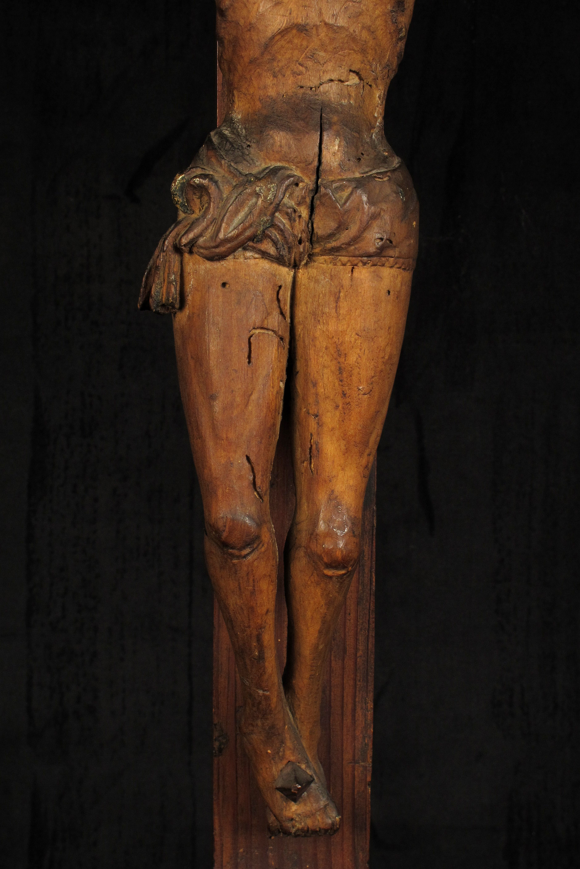 Christ sur croix dit jans niste vers 1700 old school bazaar for Arts populaires
