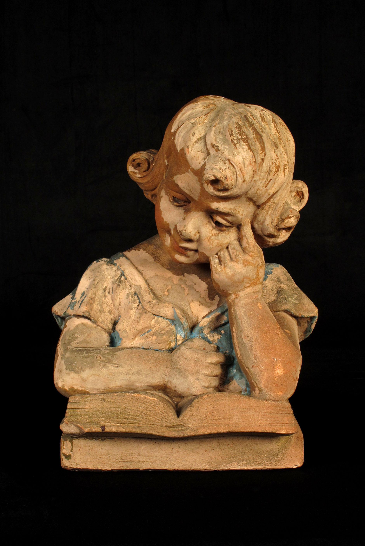 201 Mouvante Jeune Fille Sculpture En Pl 226 Tre Vers 1940