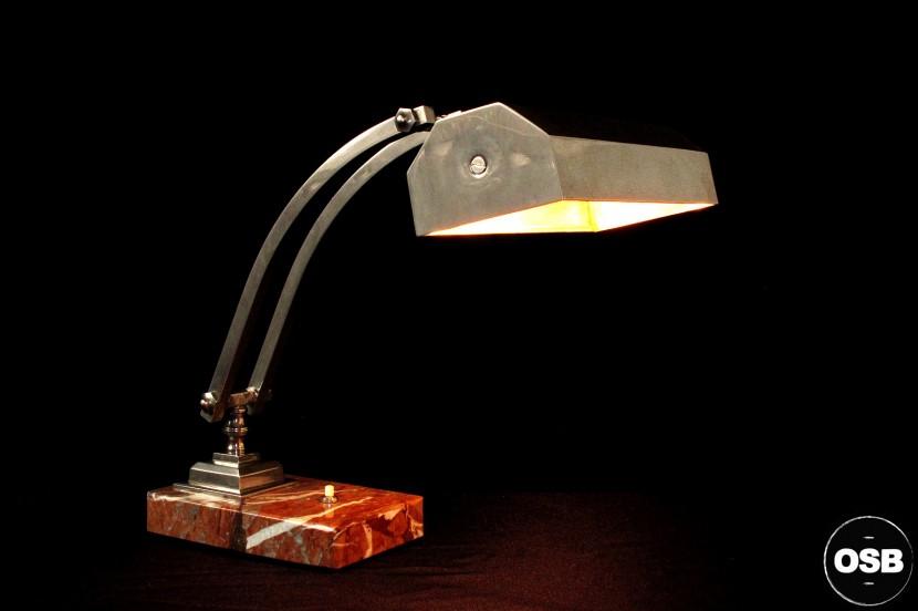 Ancienne Lampe De Bureau Art Deco Boutique De Mobilier Vintage